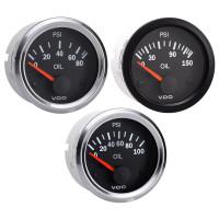Semi Truck Electrical Oil Pressure Gauge Vision