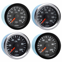 Semi Truck Mechanical Oil Pressure Gauge Vision