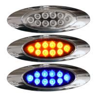 Millenium M1 Style Dual Revolution Amber & Blue LED Marker Light