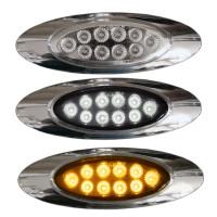 Millenium M1 Style Dual Revolution Amber & White LED Marker Light