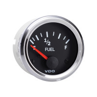 Semi Truck Electrical Fuel Level Gauge Vision Chrome