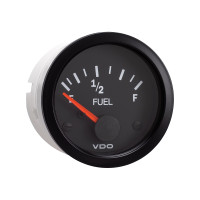 Semi Truck Electrical Fuel Level Gauge Vision Black