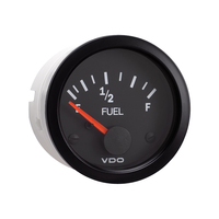 Semi Truck Electrical Fuel Level Gauge Vision Black
