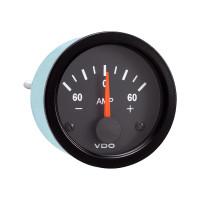 Semi Truck Electrical Ammeter Gauge Vision Black