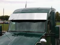 """Kenworth T680 T880 15.5"""" Blind Mount Drop Visor"""