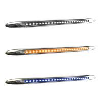 """17"""" Dual Revolution Flatline Amber & Blue LED Marker Light"""