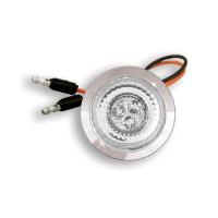 Fusion Chrome Bezeled LED Light (Off)
