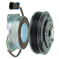 "York Style AC Compressor Clutch PV6 6"" 2 Wire 210"