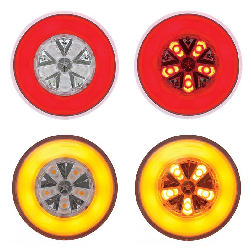 """4"""" Round STT & PTC GLO Lights"""