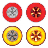 "4"" Round STT & PTC GLO Lights"