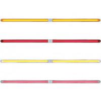 24Š— Dual Function GLO Light Bar With Chrome Housing