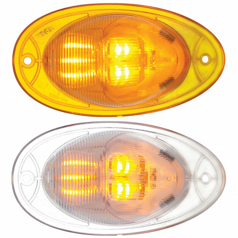 Freightliner LED Turn Signal Light Lit