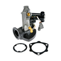 Cummins ISM Gen 1 Heavy Duty EGR Valve With Mounting Gasket Angle View