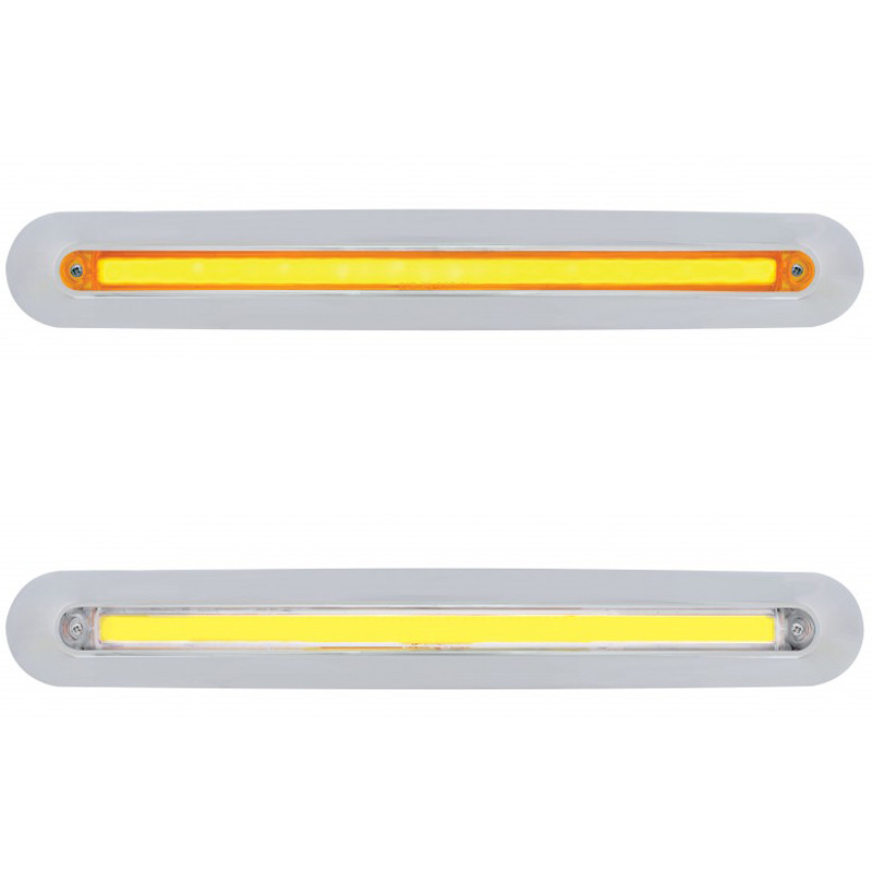 Freightliner 2005 & Up Mirror Cover LED GLO Light Bar