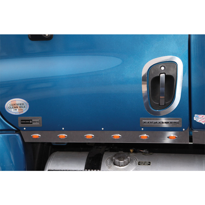Freightliner Cascadia 40 Cab Panel With Mini Leds By Roadworks Raney 39 S Truck Parts