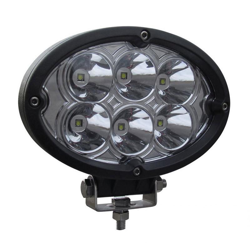 Oval Super Powered Spot LED Work Lamp