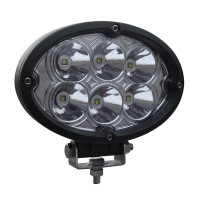 Oval Super Powered Spot LED Work Lamp