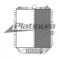 International 4000 7000 Series Half Core Radiator With Oil Cooler