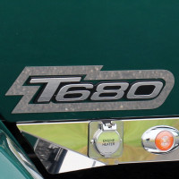 Kenworth T680 T880 Door Logo Trim Border