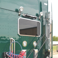 Kenworth T680 T880 Sleeper Rear Window Trim