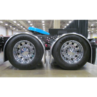 Stainless Steel Fully Smooth Super Long Low Rider Single Axle Fenders