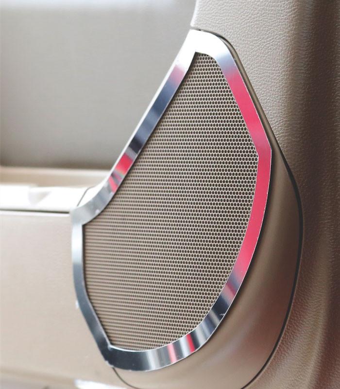 Kenworth T680 T880 Cab Door Speaker Trims