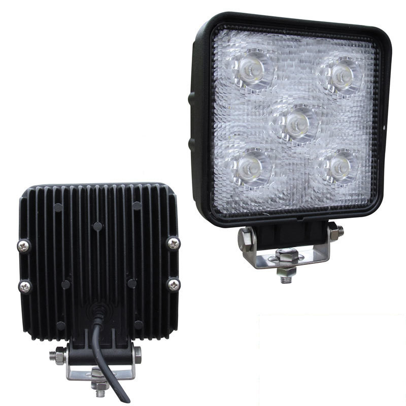 "3"" x 3"" Square Mini 5 Diode LED Spot Work Light"