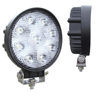 High Powered Round 9 Diode LED Flood Work Light