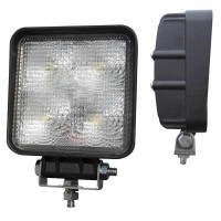 "4.3"" x 4.3"" Square Spot 5 Diode LED Work Light"