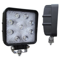 "4.6"" x 4.6"" High Powered Square 9 Diode LED Flood Work Light"