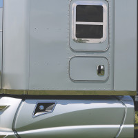 """Kenworth T680 T880 76"""" Blank Sleeper Panels With Optional Extension"""