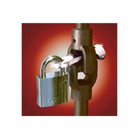 The Enforcer Truck Steering Joint Lock With Abloy Padlock