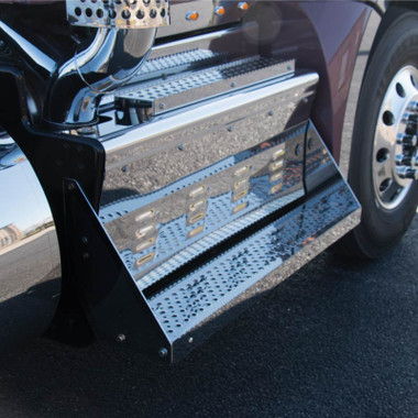 Kenworth T680 Amp T880 Dpf Box Cover Amp Steps With Exhaust