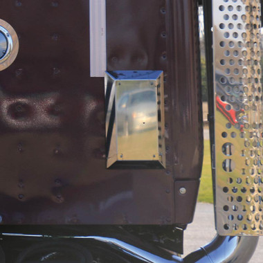 Kenworth T680 Amp T880 Cab Vent Covers By Roadworks Raney