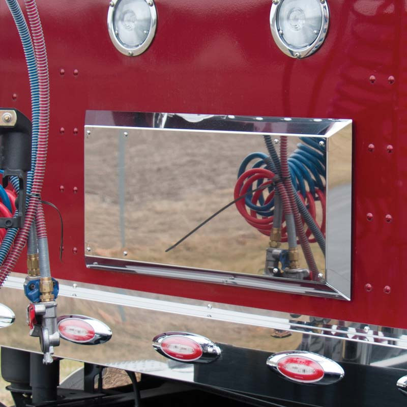 Kenworth T680 & T880 Cab Double Vent Cover