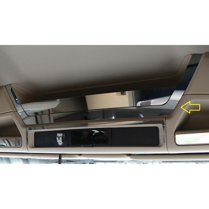 Kenworth T680 & T880 Upper Headliner 2 Piece Storage Pocket Trim With Arrow