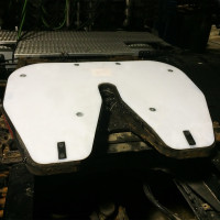 RV Fifth Wheel Slick Plate
