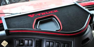 Small Truck Tool Box >> Volvo VNL V-Truck Custom Dashboard System - Raney's Truck Parts