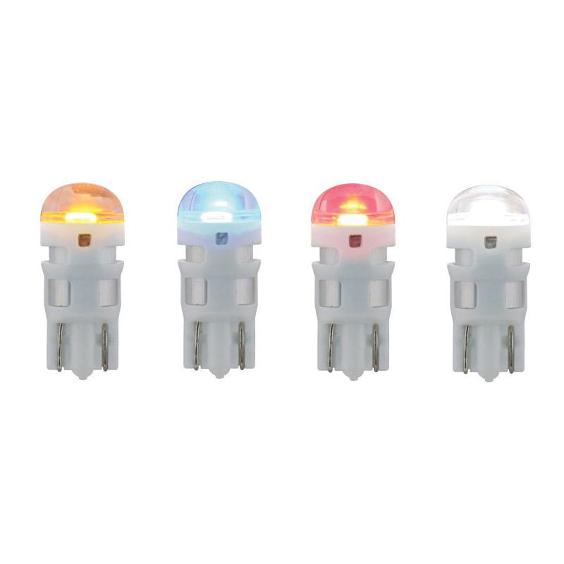 High Power LED 194 / T10 Replacement Bulb Amber Blue Red White