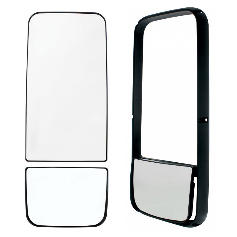 Kenworth T600 T660 T800 Replacement Mirror Frame & Parts With Defrost