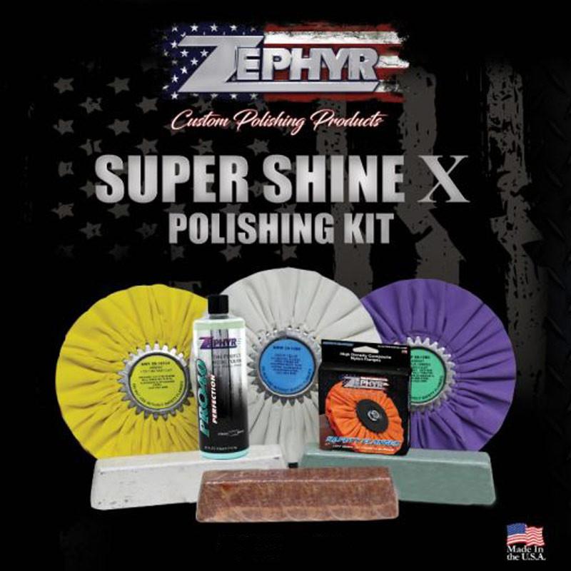 Zephyr Super Shine X Polishing Kit