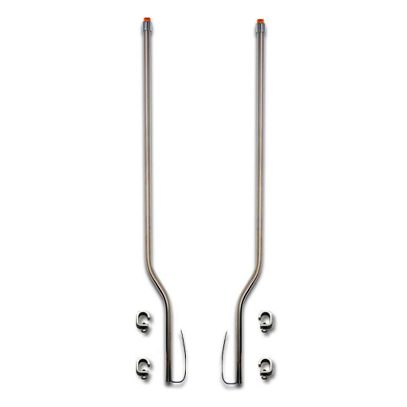 Mack Superliner Stainless Steel LED Bumper Guide