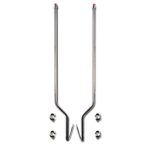 Freightliner FLC 120 Stainless Steel LED Bumper Guide
