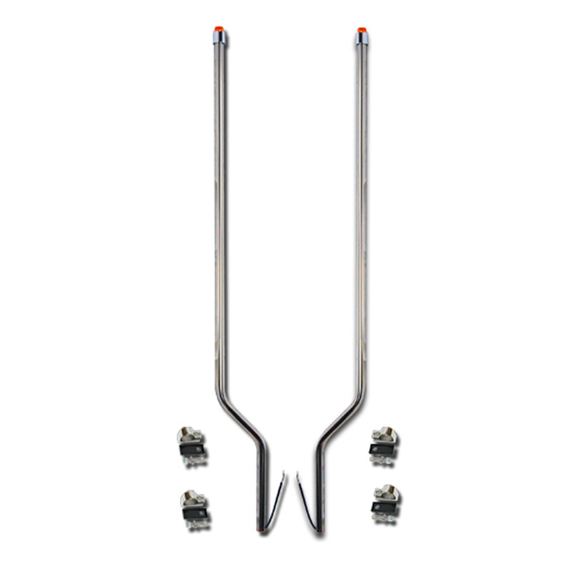 Freightliner M2 Stainless Steel LED Bumper Guide