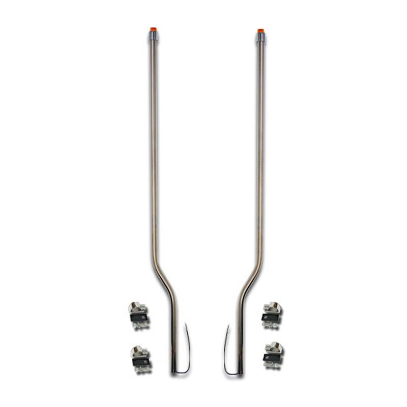 Kenworth T2000 T2010 Stainless Steel LED Bumper Guide