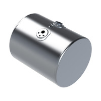 Kenworth Aluminum Replacement Diesel Cylindrical Fuel Tank