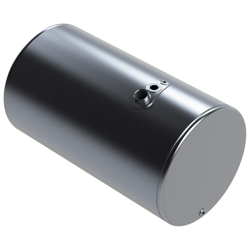 Mack/Volvo Aluminum Replacement Diesel Cylindrical Fuel Tank