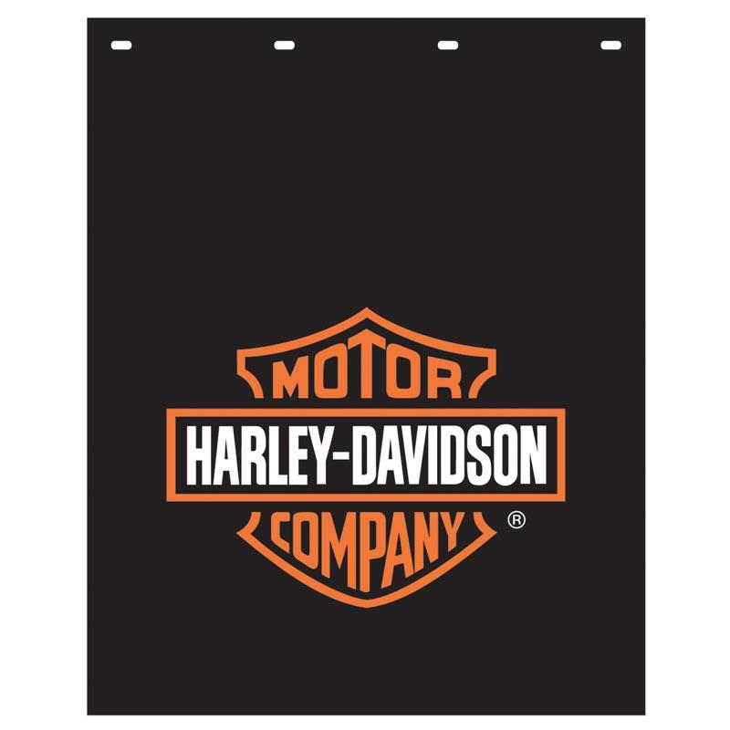 Semi Mud Flaps >> Harley Davidson Logo Mud Flap 24 X 30