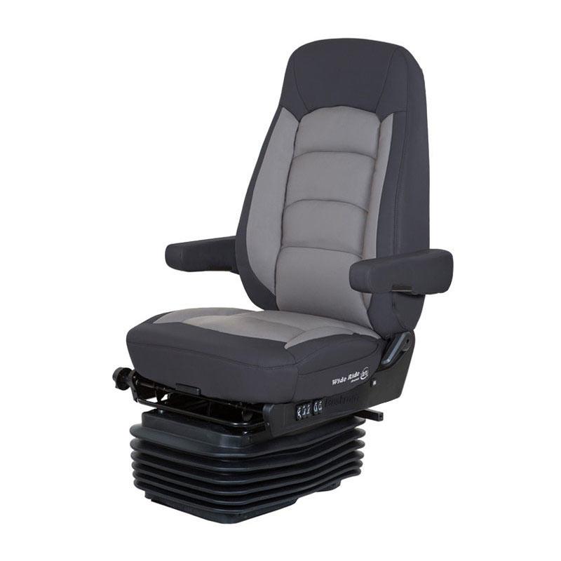 Bostrom Serta Low Profile Wide Ride High Back Seat In Black/Grey