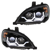 """Blackout"" Freightliner Columbia Projection Headlight - Both"